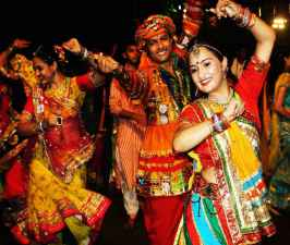 Welcome or oppose the law People wore helmets and played garba.jpg