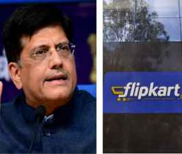 Piyush Goyal promises action against e-commerce firms Amazon and Flipkart violating FDI norms.jpg