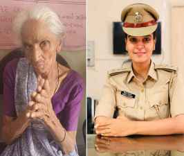 DYSP officer adopted 80 years old woman.jpeg