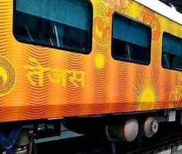 Ahmedabad-Mumbai and Delhi-Lucknow Tejas Express to be handed over to IRCTC.jpg