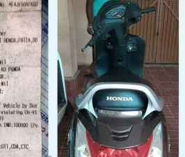 Brand-new Honda Activa seized; Issued a fine of massive Rs 1 lakh.jpg