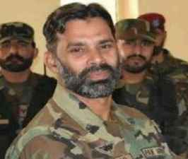 Pakistani commander Ahmad Khan killed in fight with Indian army.jpg