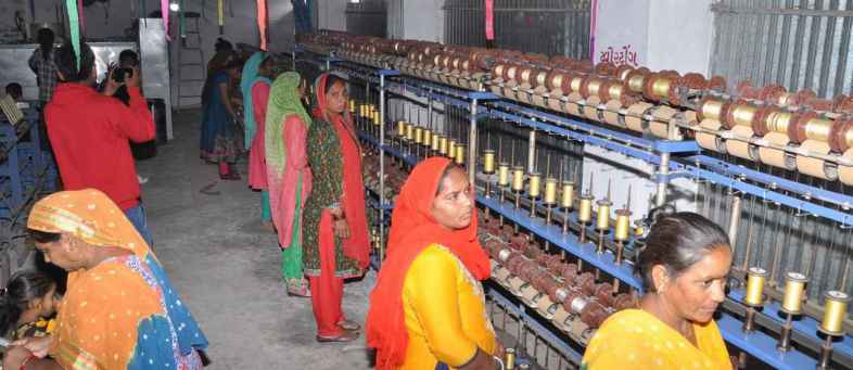 Khadi and Village Industries Commission opens first silk processing plant in Gujarat to boost Patola saree production.jpg