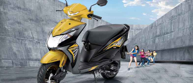 Over 30 lakh sales of Honda Dio - Scooter segment ranked fourth.jpg
