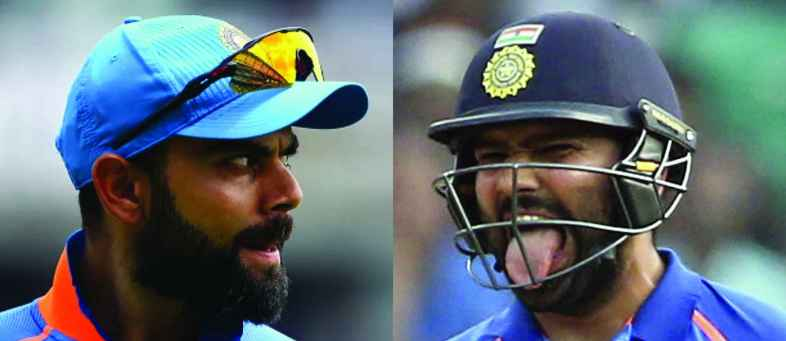 Controversy between Kohli-Rohit - Team India falls into two parts.jpg