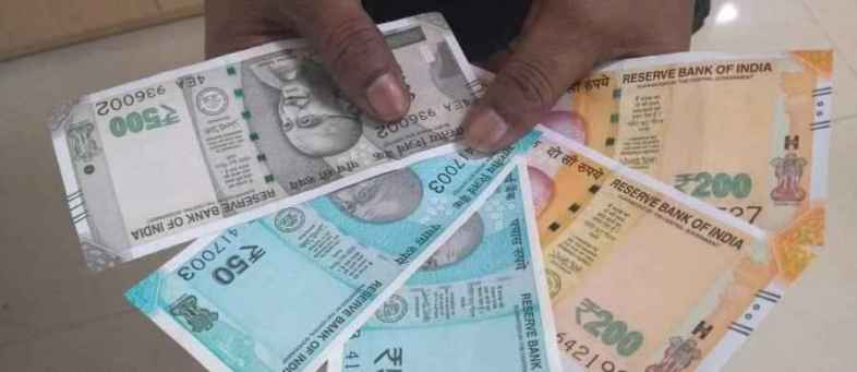 Indian Rupee weak against dollar on the back of a stock market slump.jpg