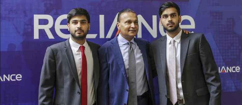 Anil ambani son's Anmol & Anshul join Reliance Infrastructure board as a Director.jpg