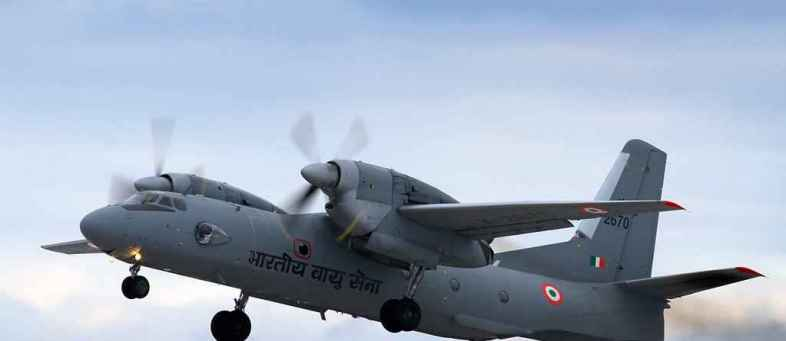 Air Force An-32 transport plane goes missing near China border with 13 people onboard.jpg