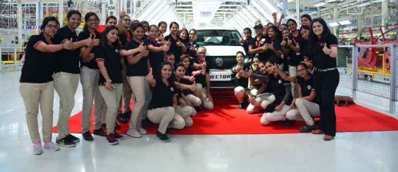 MG Motor Commercial Production Of Hector SUV At Its Halol Plant.jpg