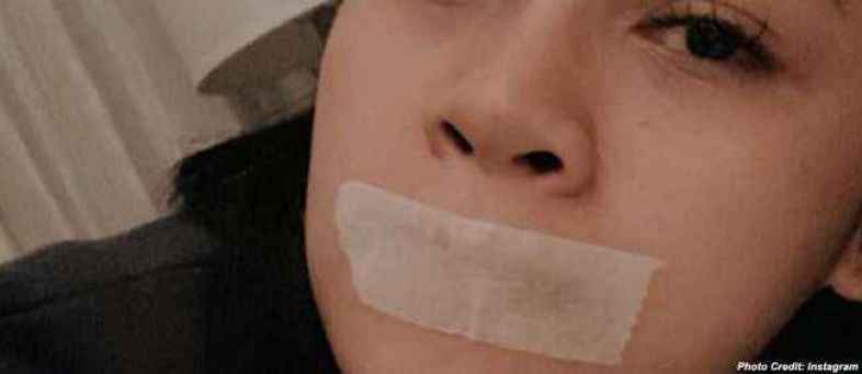 Why Indonesia singer Andien sleeps with tape on her mouth.jpg