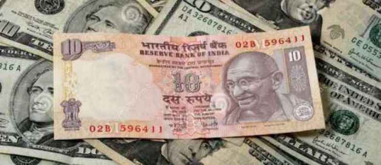 India rupee weak against the dollar for the second week in a row.jpg