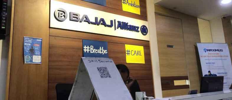 Bajaj Allianz Life Insurance Employees to Get 20 Lakh's Insurance; 20,000 for Home Isolation Treatment.jpg
