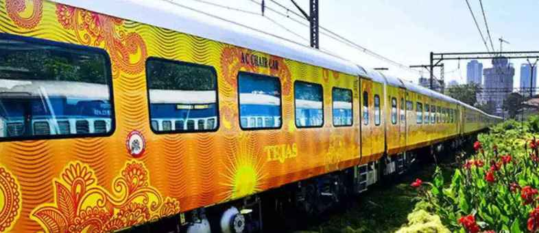 From today, Tejas Express is running again in the country.jpg