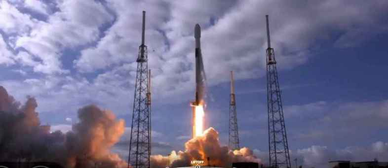 SpaceX launched a record spacecraft in the Cosmic Rideshare program.jpg