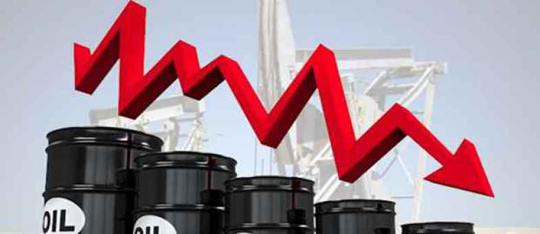 Crude price down will hit oil producing countries including Russia.jpg