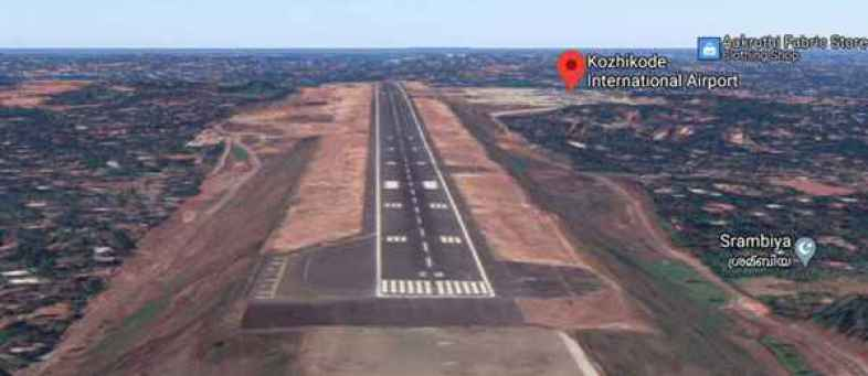 Tabletop runway responsible for accident at Kozhikode airport.jpg