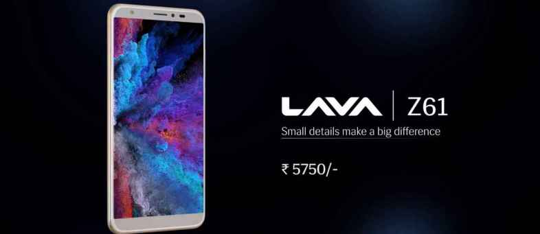 Made In India 'Lava Z61 Pro' Launched, Check Price, Specs (1).jpg