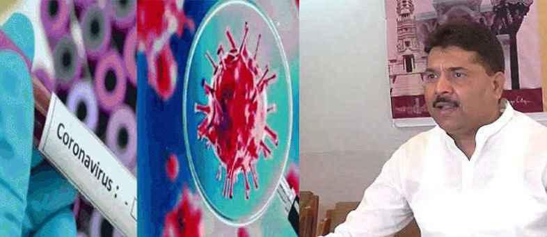 AMC Opposition Leader Dinesh Sharma and his son's Corona test positive.jpg