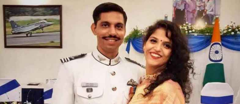 Martyr Squadron Leader Samir Abrol's Wife is all set to join the Air Force-1.jpg