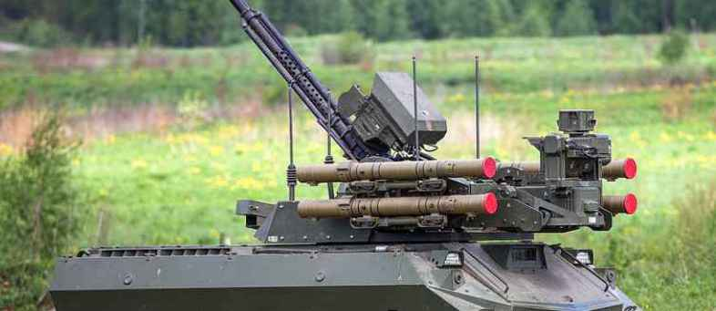Russia Ready For An Unmanned Ground Attack With Uran-9 'Strike Robot Vehicles'.jpg