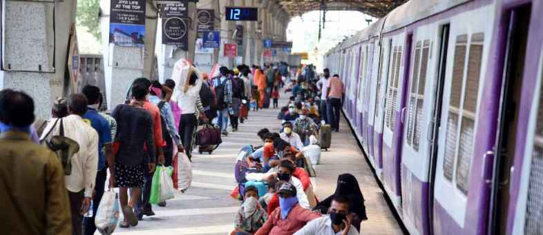 Labor train bound for Uttar Pradesh reaches Odisha.jpg