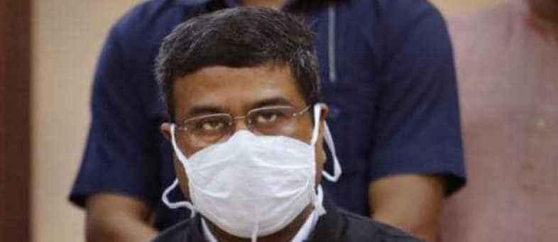 Union Minister Dharmendra Pradhan Tests Positive For Corona.jpg