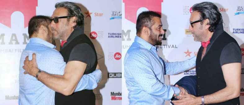 Jackie Shroff was walking along with the photo of Salman Khan.jpg