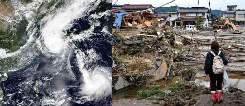The hurricane struck South Korea, in 2.70 million homes Lightning Gull.jpg