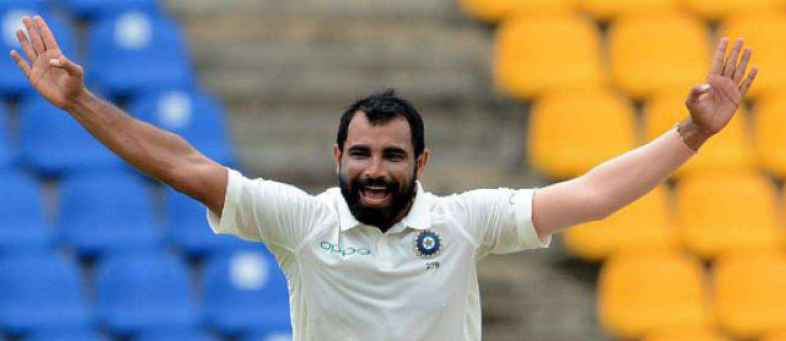 Mohammed Shami surpasses Zaheer Khan, Ishant Sharma to become third fastest Indian to pick 150 Test wickets.jpg