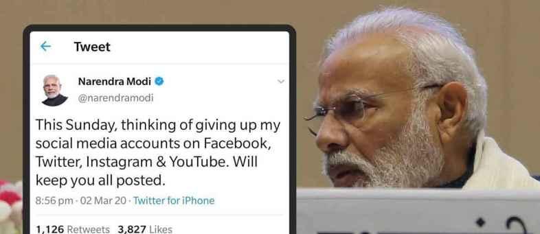 Women's Day PM Modi's Twitter account in the hands of Sneha Mohandas.jpg