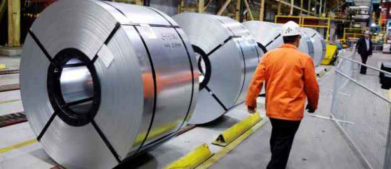 India's Steel Production fall 2.8% to 89.34 lakh tonn in November.jpg