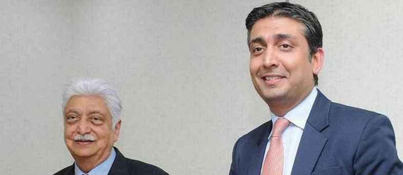 Azim Premji,  Rishad will take Wipro to new heights Level.jpg