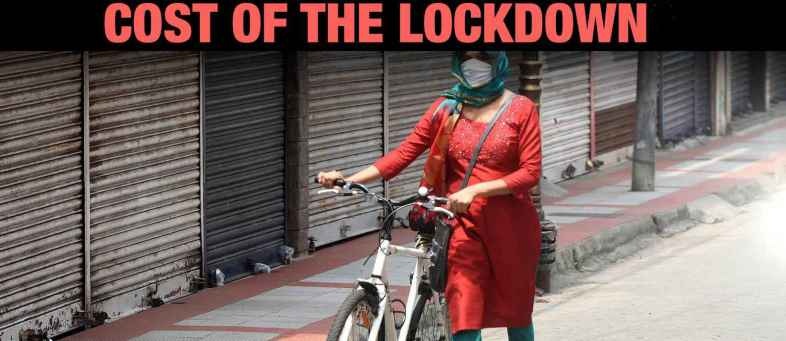 Lockdown, Mobility curbs is estimated to have cost the country Rs 1.5 lakh crore so far SBI report.jpg