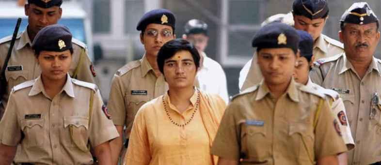 Malegaon blast case - NIA court orders Sadhvi Pragya to appear every week.jpg