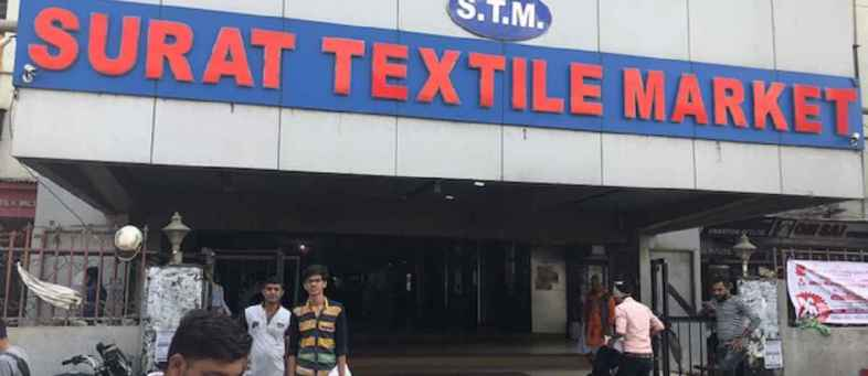 Corona case in Surat Now textile market will be open only 5 days in week.jpeg