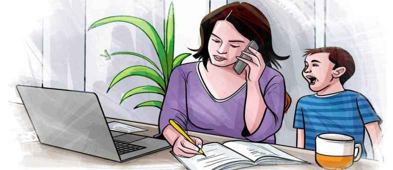32 minutes increase in working hours of Indians due to work from home.jpg