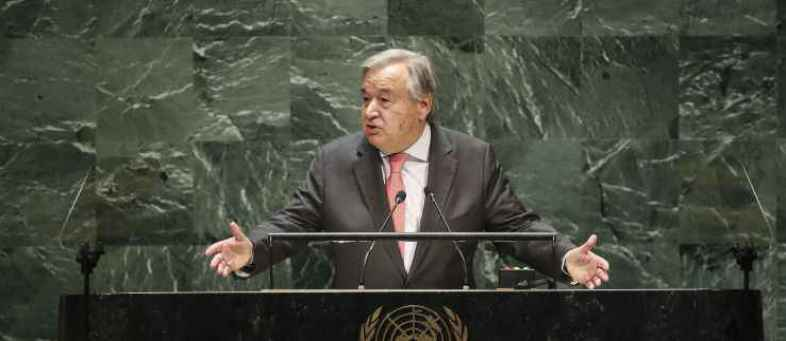 UN Secretary General Antonio Guterres warns United Nations may not have money to pay staff next month.jpg