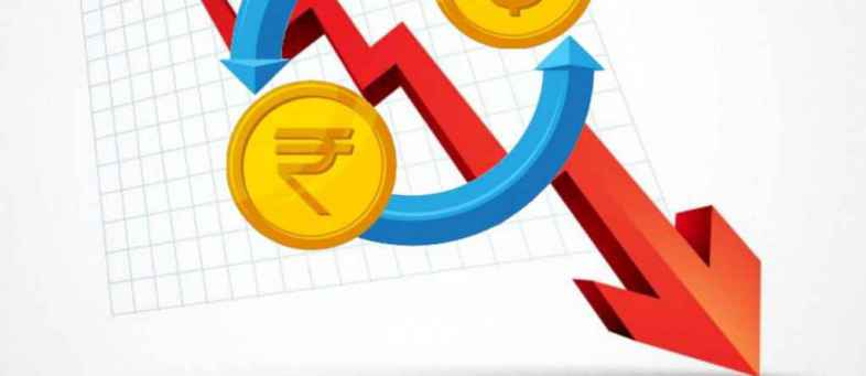 Rupee softened on concerns over the return of foreign inflows.jpg