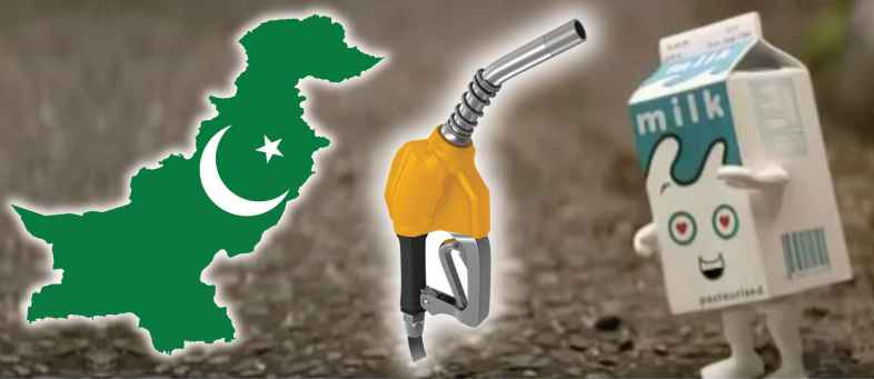 At Rs.140 per litre, milk was costlier than petrol and diesel in Pakistan on Muharram Festival.jpg