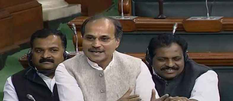 Nirbala, Congress's Adhir Ranjan Chowdhury attacks Nirmala Sitharaman with sexist jibe.jpg