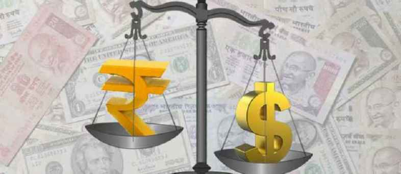 Rupee slipped at the top of the day, Fell 11 paise against the dollar.jpg