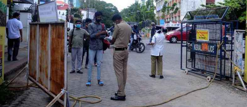 Kerala Govt announced  Complete lockdown on weekend, mass testing campaign on Friday.jpg
