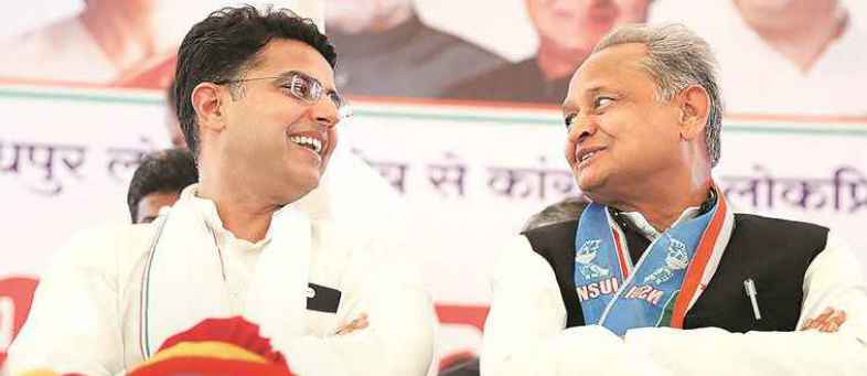 Compromise between Gehlot and Pilot, Congress government secured in Rajasthan.jpg