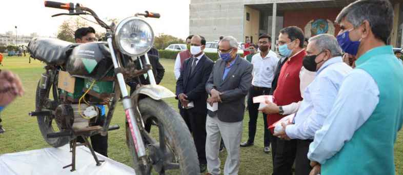 Modification of petrol bike to electric, Per KM's charge only  25 paise, know how to possible.jpg