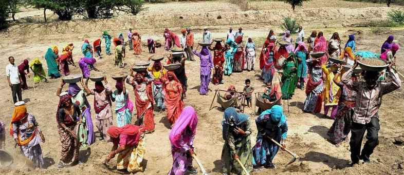 Demand for work under MGNREGA declining for 4th consecutive month.jpg