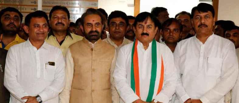 Gujarat Local Body Election BJP Marching for Majority in Urban Area, APP Showing Strength.jpg