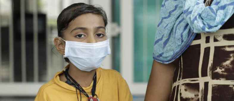 Corona patient 8 year old Simran's intestines are bad, find out what the doctors did ....jpg