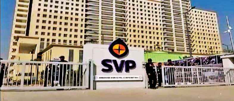 SVP Hospital's management cut salary of Corona Warriors..jpg