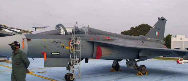 Air Chief Marshal activates 'Squadron-18' by including 'Tejas'.jpg