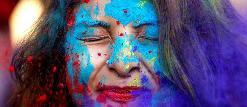 These Holi, Be careful to use of colors it may damage your skin.jpg